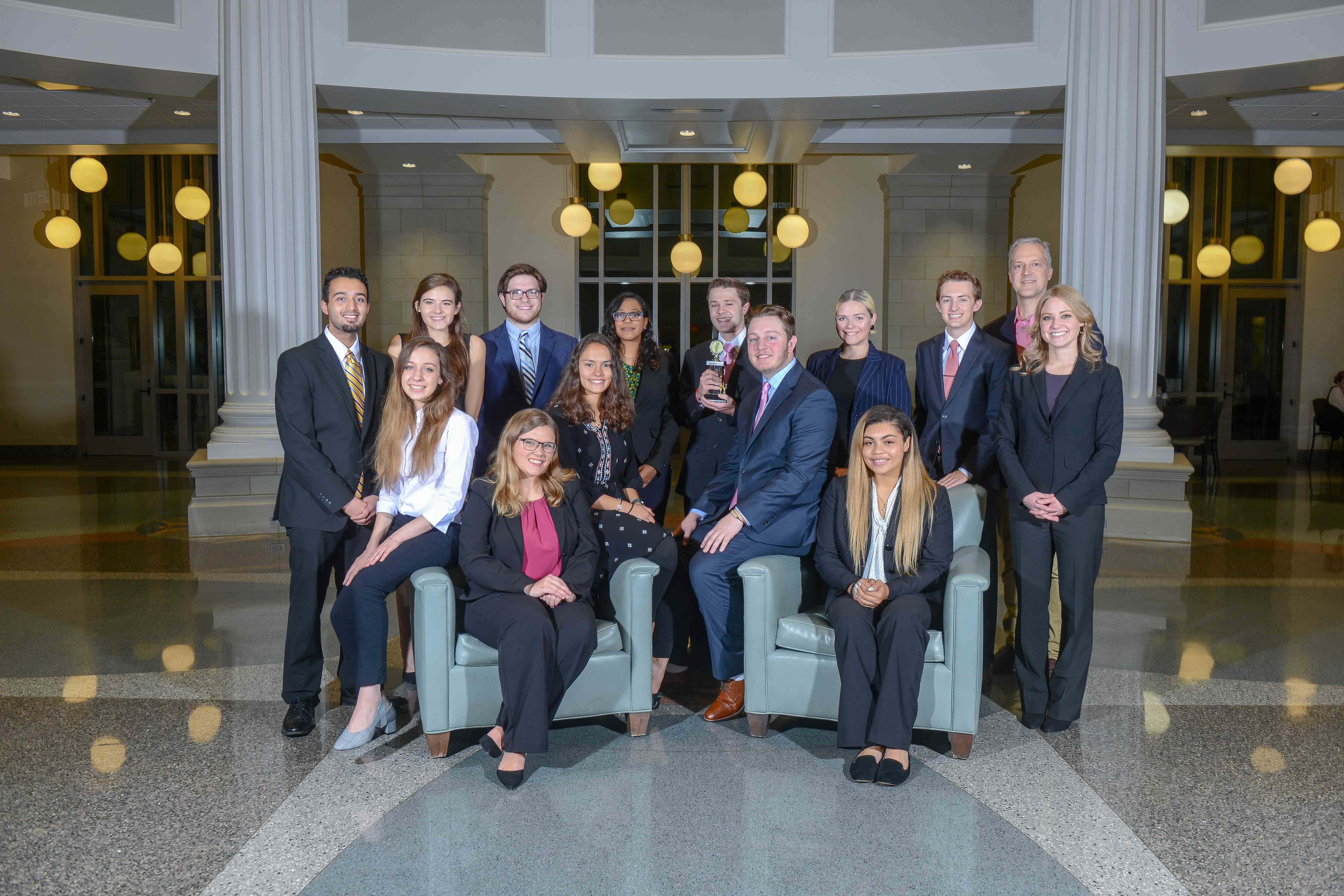 Belmont Undergraduate Mock Trial Teams Bring Home Awards